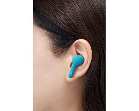 JVC HA-A7T-AN Cuffia Auricolare Blu Bluetooth Micro-USB - 2