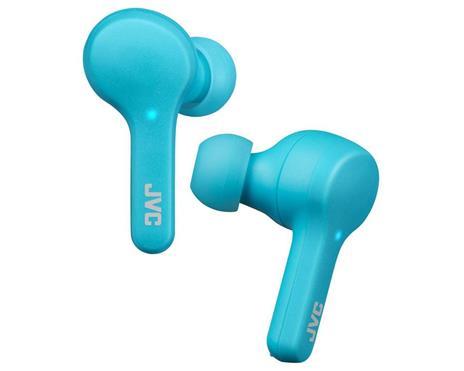 JVC HA-A7T-AN Cuffia Auricolare Blu Bluetooth Micro-USB - 3