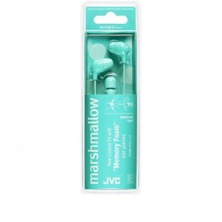 JVC HA-FX38-G-E Cuffie Auricolare Colore acqua