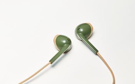 JVC HA-F19BT-GC Cuffia Auricolare Crema, Verde - 2