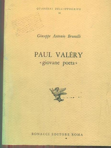 Paul valery. Giovane poeta - 8