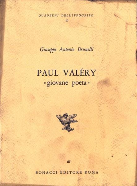 Paul valery. Giovane poeta - copertina