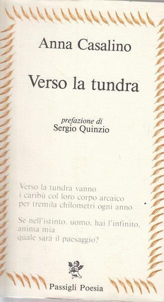 Verso la tundra - Anna Casalino - copertina