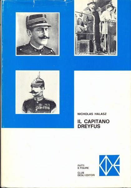 Il capitano Dreyfus - Nicholas Halasz - copertina