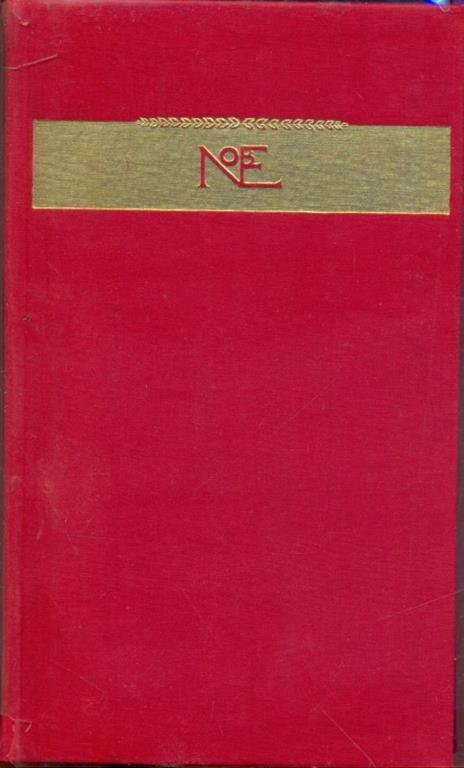 Opere Premio Nobel 1936 - copertina