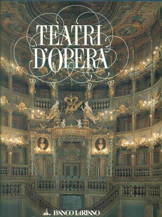 Teatri d'Opera - copertina