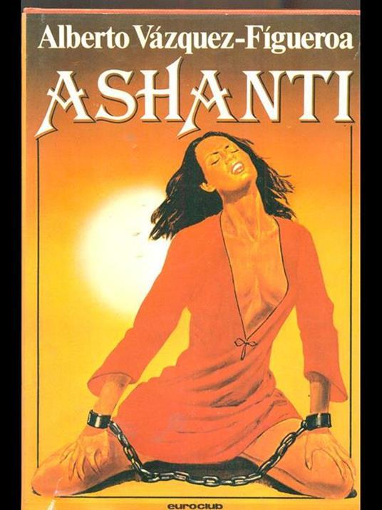 Ashanti - Alberto Vázquez Figueroa - copertina