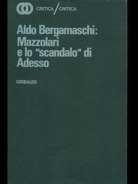 Mazzolari e lo scandalo di adesso - Aldo Bergamaschi - 2