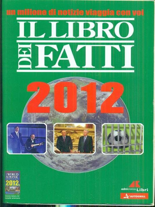 Il libro dei fatti 2011 - copertina