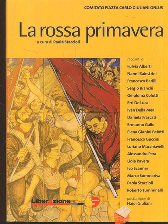 La rossa primavera - Paola Staccioli - copertina