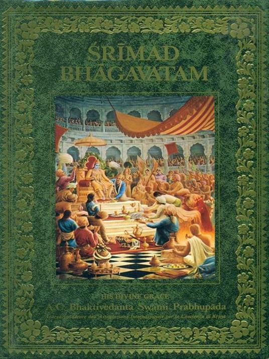 Srimad Bhagavatam. Primo canto. Parte seconda Cap. 6-9 - Krsna-Dvaipayana Vyasa - copertina