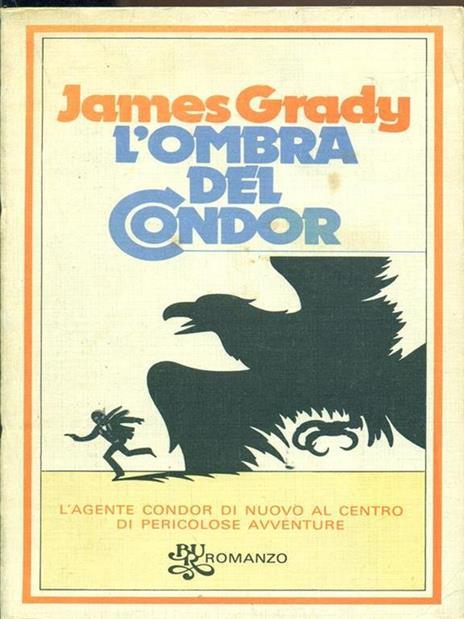 L' ombra del condor - James Grady - copertina