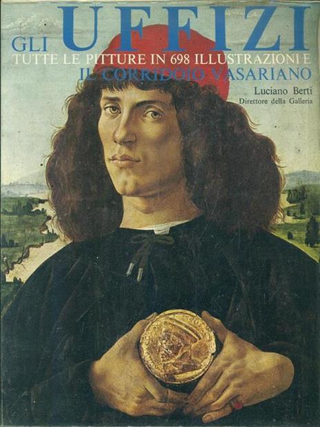 Gli Uffizi - Luciano Berti - copertina
