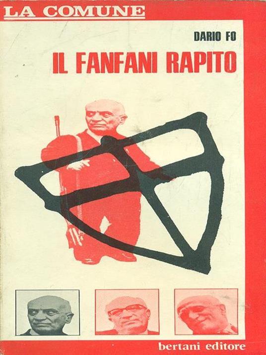 Il  fanfani rapito - Dario Fo - copertina