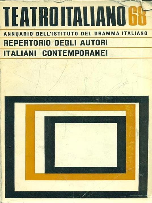 Teatroitaliano 68 - copertina