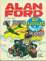 Alan Ford n. 58. Un tuffo nel vuoto