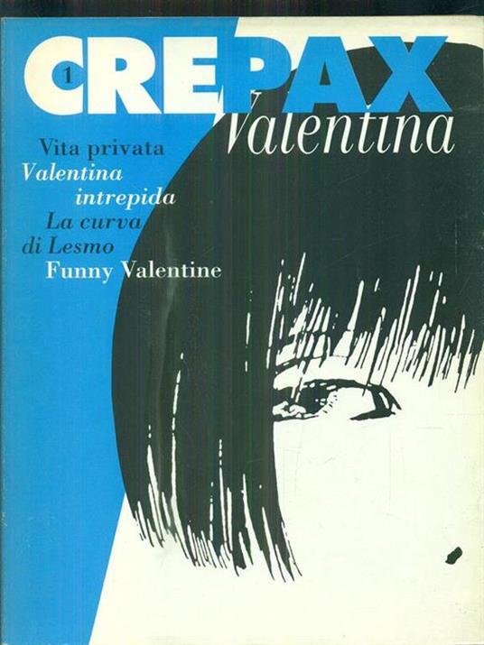 Crepax 1 Valentina - copertina