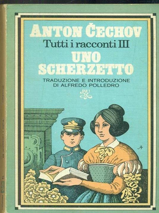Uno scherzetto  - Anton Cechov - copertina