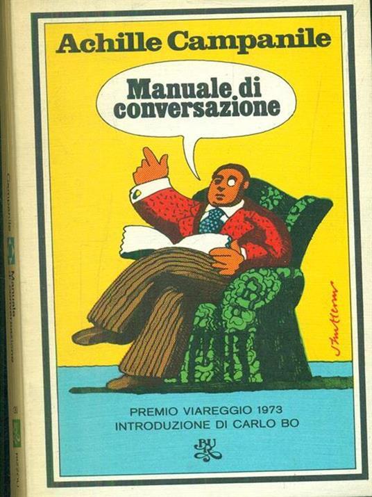 Manuale di conversazione - Achille Campanile - copertina
