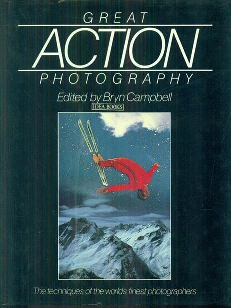 Great Action Photography - Bryn Campbell - copertina