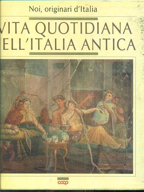 Vita quotidiana nell'Italia antica - copertina