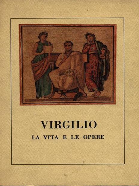 Virgilio la vita e le opere - copertina