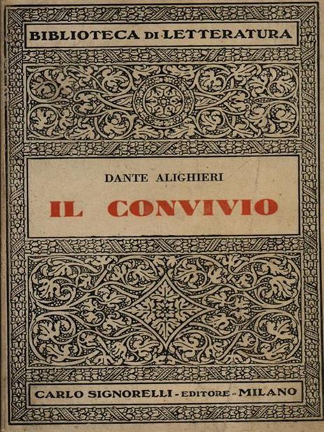 Il convivio - Dante Alighieri - 3