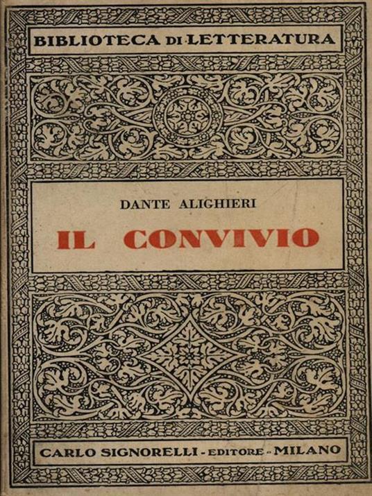 Il convivio - Dante Alighieri - 6