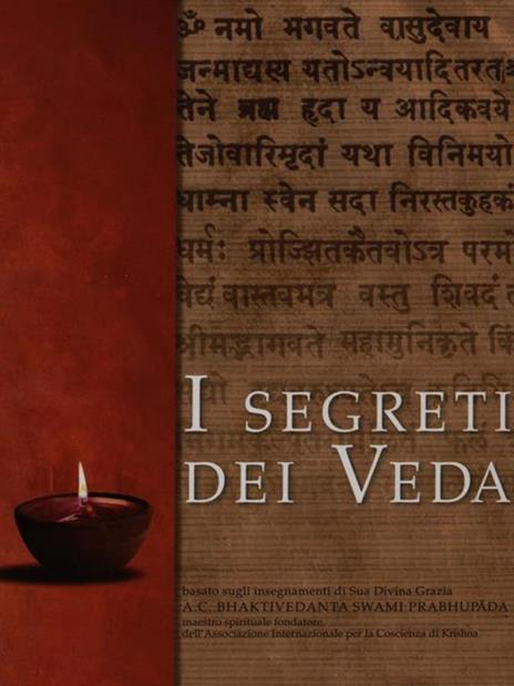 I segreti dei Veda - copertina