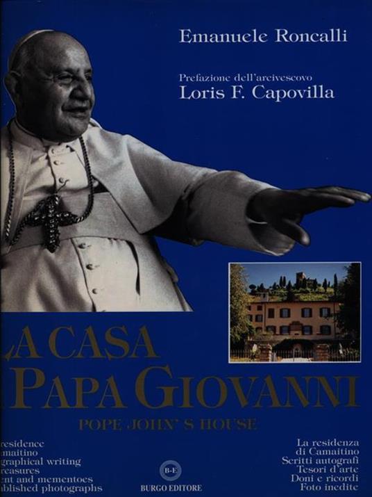 La casa di Papa Giovanni - copertina