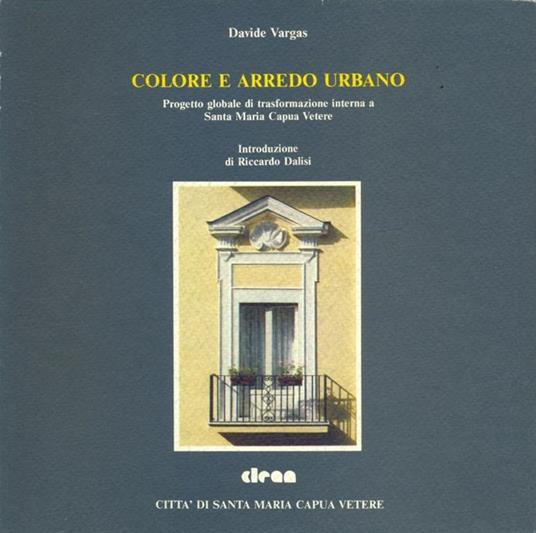 Colore e arredo urbano - copertina