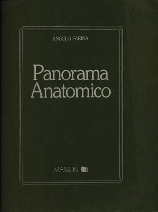 Panorama anatomico - Angelo Farina - 3