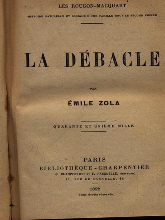 La debacle - Émile Zola - 3