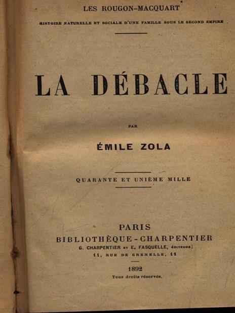 La debacle - Émile Zola - 2