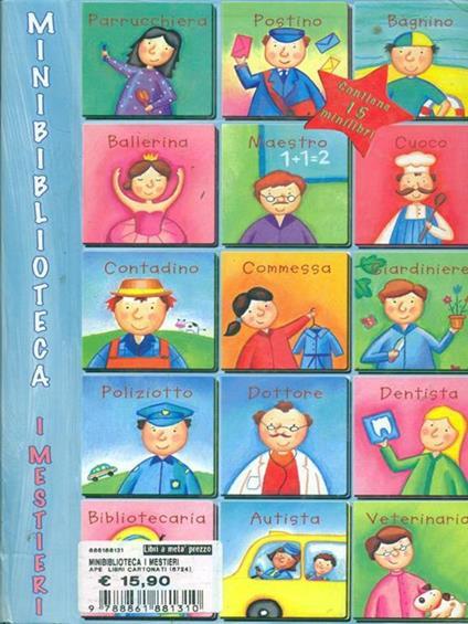 Minibiblioteca I mestieri - Pat Hegarty - copertina