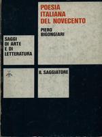 Poesia italiana del Novecento vol. 1