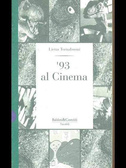 '93 al Cinema - Lietta Tornabuoni - copertina