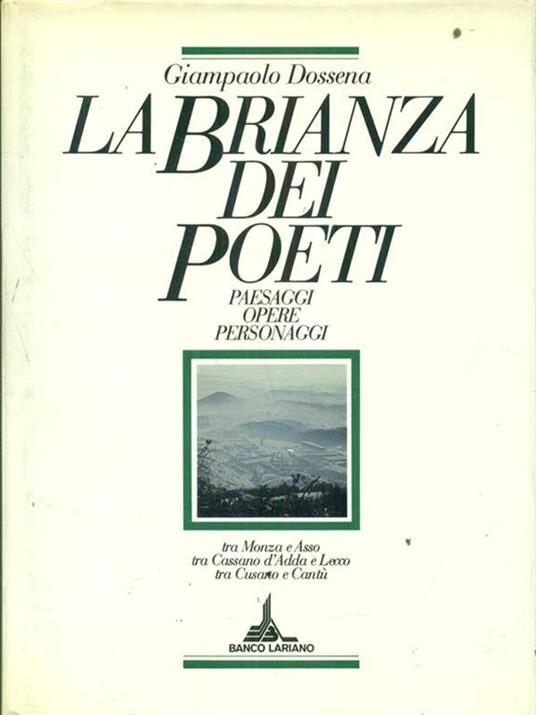 La  Brianza dei poeti - Giampaolo Dossena - 4