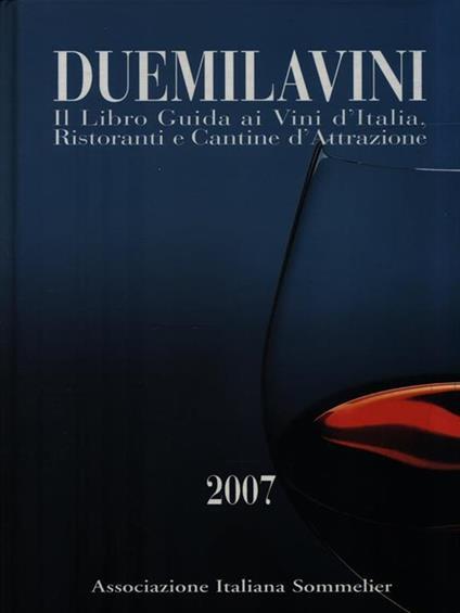 DuemilaVini 2007 - copertina