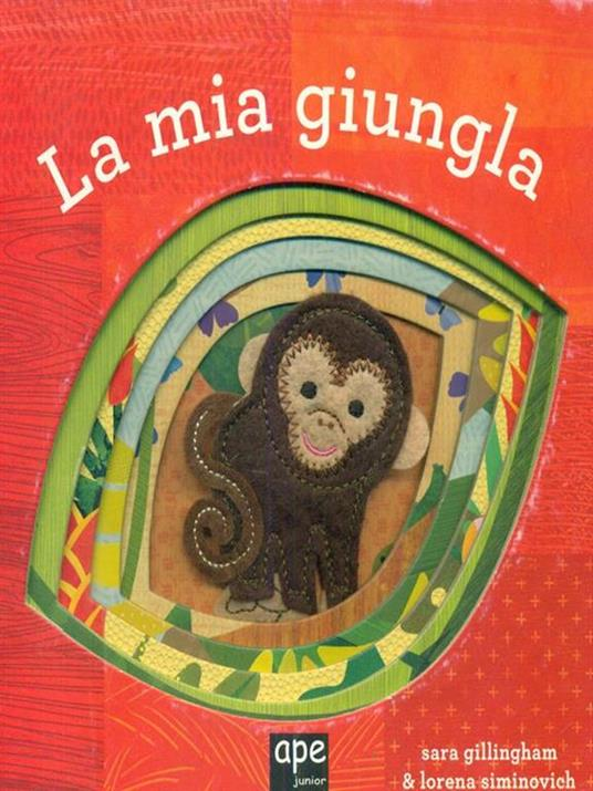 La mia giungla - Sara Gillingham - copertina