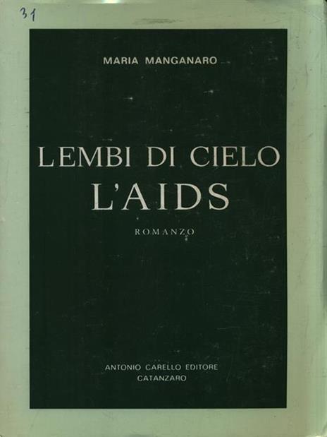 Lembi di cielo L'AIDS - Maria Manganaro - copertina