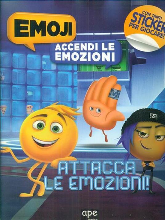 Emoji, accendi le emozioni - copertina