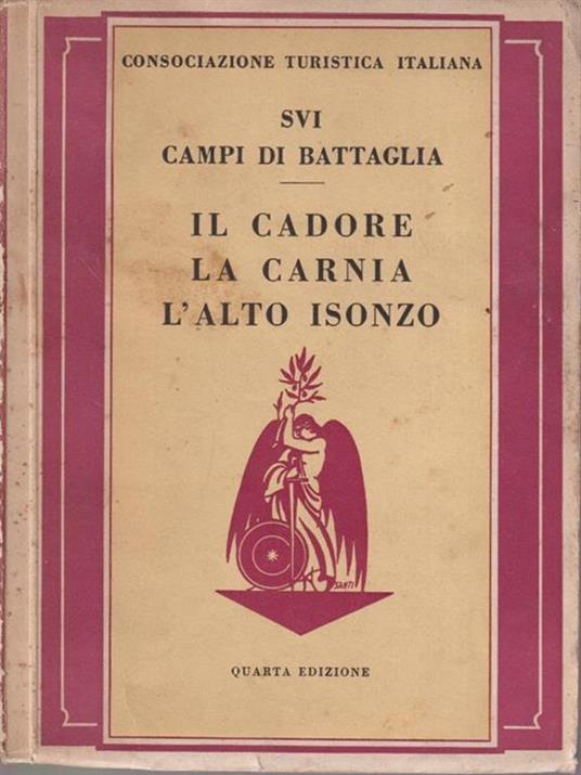 Sui campi di Battaglia - Il Cadore, la Carnia, l'Alto Isonzo -   - copertina