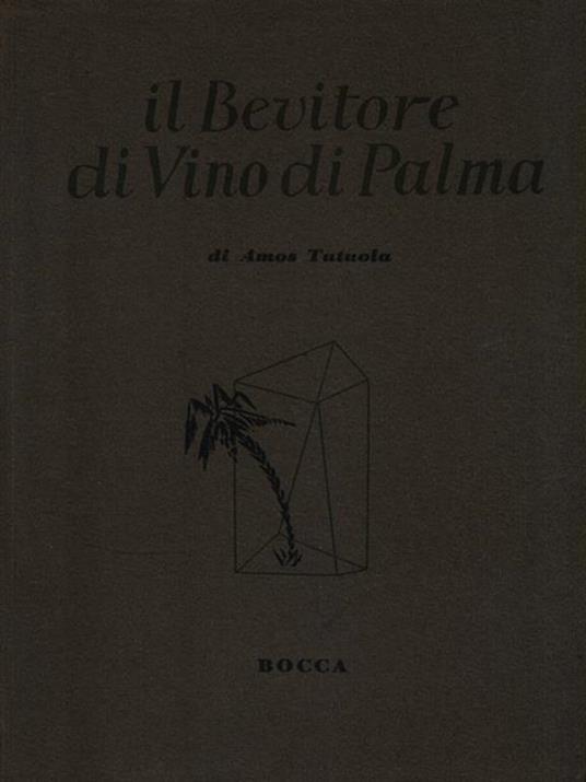 Il Bevitore di Vino di Palma - Amos Tutuola - copertina
