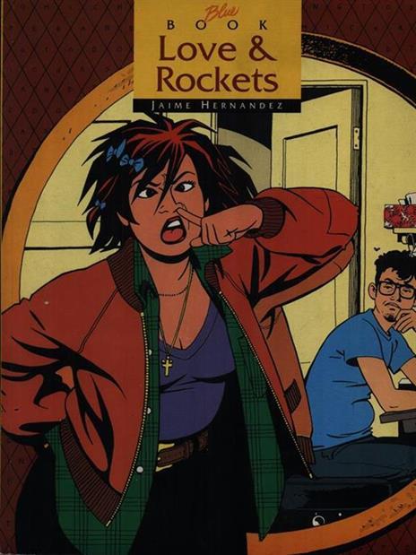 Love & Rockets - Jaime Hernandez - copertina