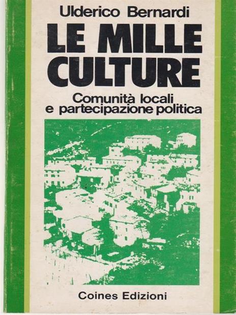 Le mille culture - Ulderico Bernardi - copertina
