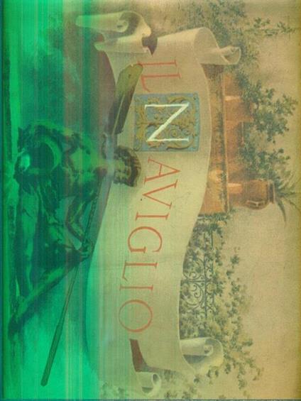 ll naviglio. Strenna del Pio istituto dei rachitici di milano 1886. Anno VI - copertina