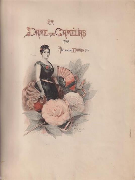 La dame aux camelias - Alexandre Dumas - copertina