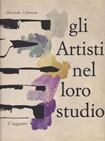 Gli artisti nel loro studio