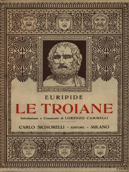 Le Troiane - Euripide - copertina
